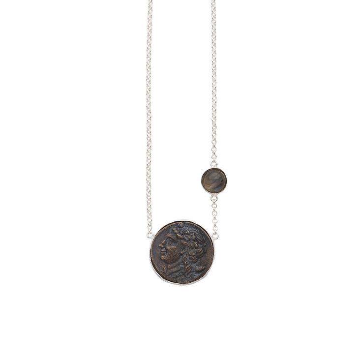 Nelle Necklace Silver | Christie Nicolaides