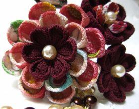 katumi made *つまみ細工の簪(かんざし)髪飾り、つまみ細工のshop