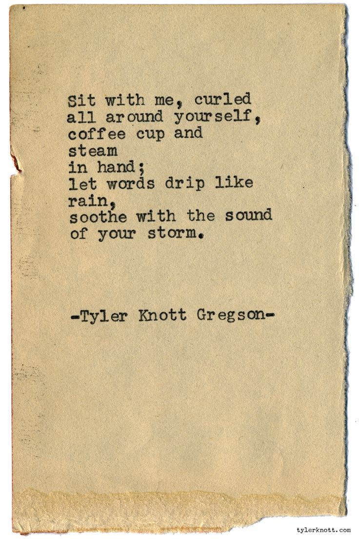 Typewriter Series #1875 by Tyler Knott Gregson Wildly Into the Dark is out now! Snag a copy!