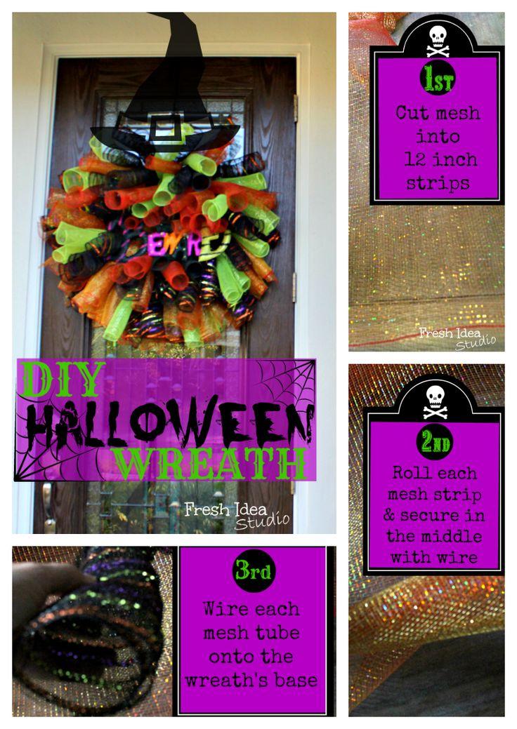 M S De 25 Ideas Incre Bles Sobre Diy Halloween Wreaths En