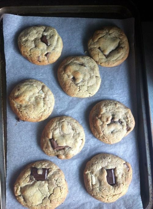 Ben's Cookies Recipe | My boyfriend and I have perfected the recipe for the delicious Ben's Cookies as sold in Oxford, London and various other locations in the South of England. they're delicious!