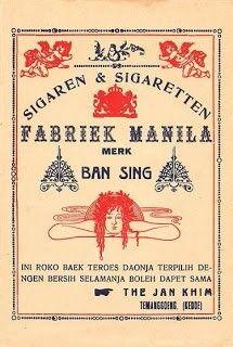 Sigaren FABRIEK MANILA_1930s