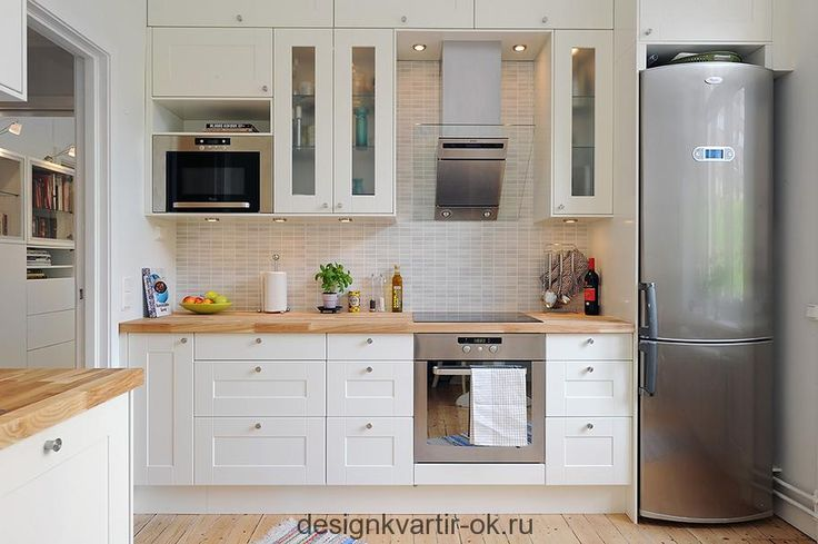Дюжина идей белоснежной кухни - Подборка идей и фотографий дизайна квартир и интерьера
