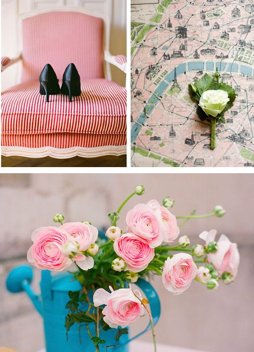 that green and that blue (and the pink) make a great palette