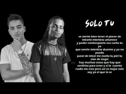 Solo Tu - Arcangel ft Maluma (Video Con Letra) (Los Favoritos) 2015