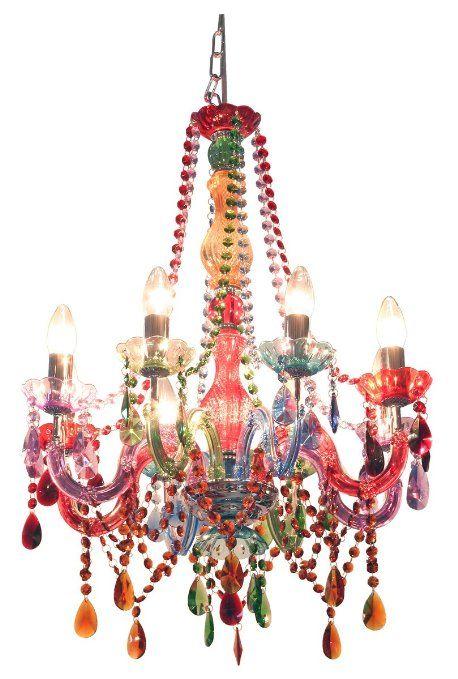 Funky Gypsy Multicoloured Chandelier Light
