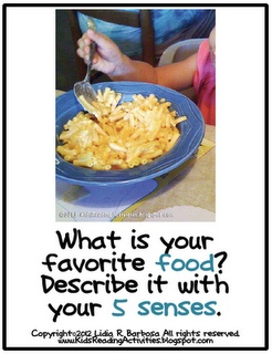 write about your favorite food
