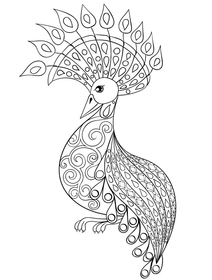 70 best coloring pages images on Pinterest | Adult coloring ...