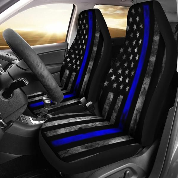 Draaistoel In Auto.Thin Blue Line Car Seat Covers Thin Blue Line Shop Car Seat