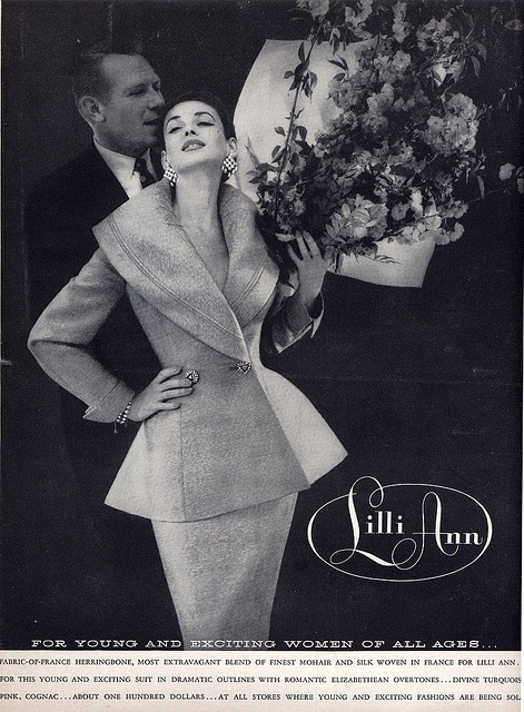 I love Lilli Ann because her designs look so fresh! I just can't believe they're vintage!