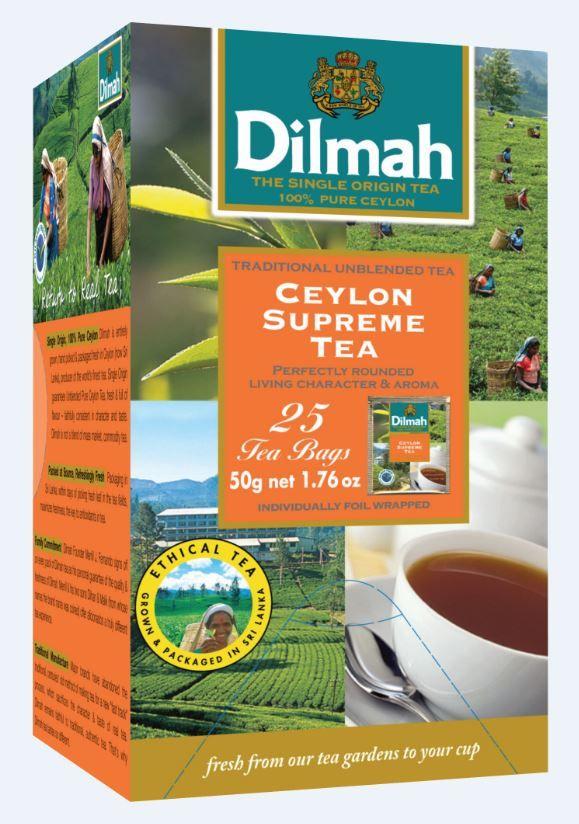 Čaj Dilmah gourment selection - Ceylon Supreme