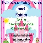 I am so excited to post my... Folktales, Fairy Tales and Fables unit!  This download is Common Core aligned with coded standards for second grade b...