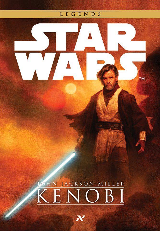 Star Wars Legends Kenobi capa brasileira pela editora Aleph