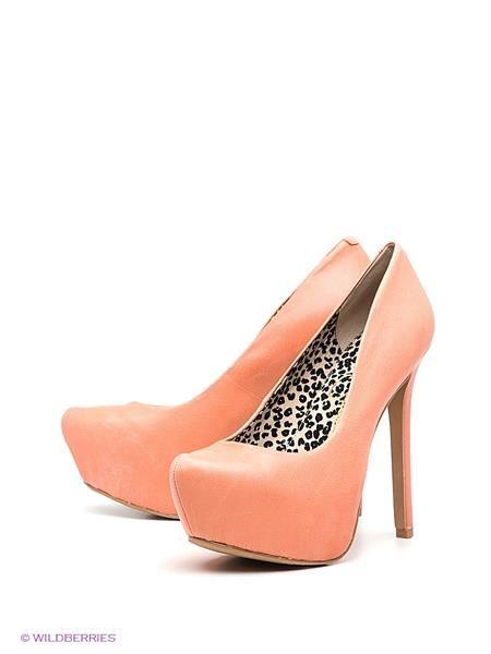 Купить туфли детские персикового цвета