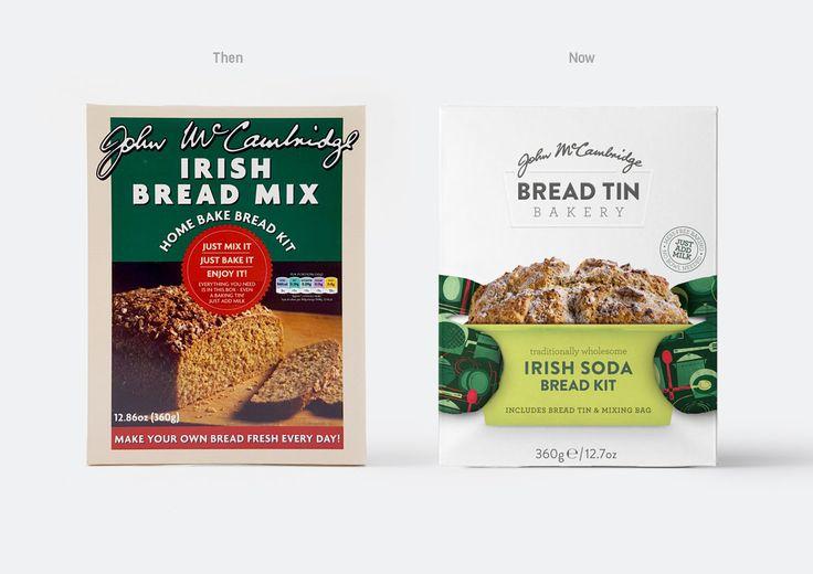 McCambridge Bread Tin Bakery Packaging Design – Brandpoint London
