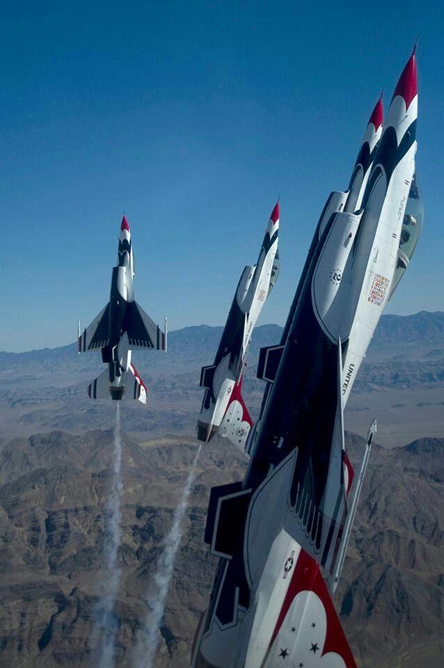 F-16 Air Force Thunderbirds