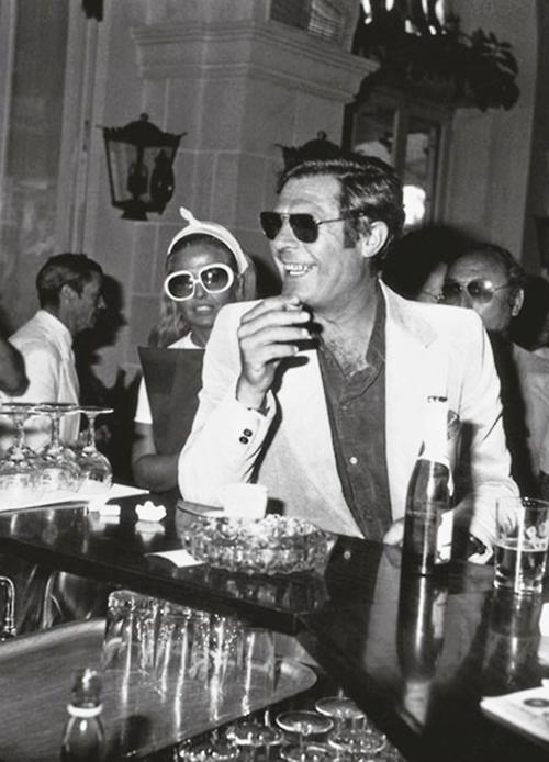 Marcello Mastroianni at Cannes