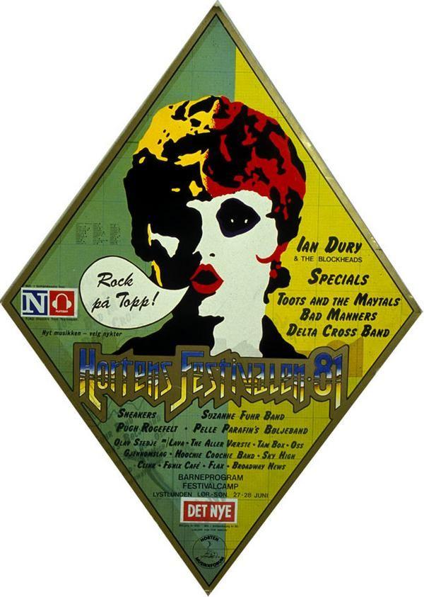 Classic - Plakater/Posters 1975-2008 By Hortensfestivalen (hortensfestivalen) on Myspace