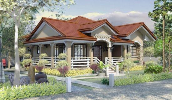 Proiect de casa rezidentiala mica si accesibila