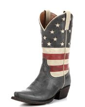 American Rebel Boot Company Women's Colt Ford Stars & Stripes Boot - Aged Blue Jean