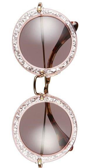 Cute Miu Miu glitter sunglasses http://rstyle.me/n/t9djdnyg6: