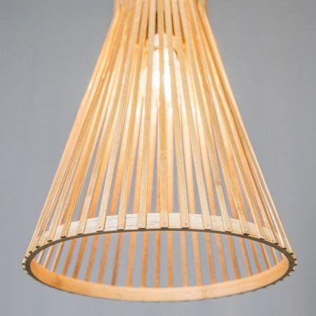 Lampa wisząca Bamboo 1 naturalna #naturalnalampa #lampaeko #nietuzinkowalampa