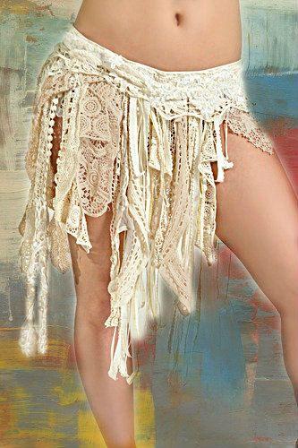 Fusion Tribal lace Belt