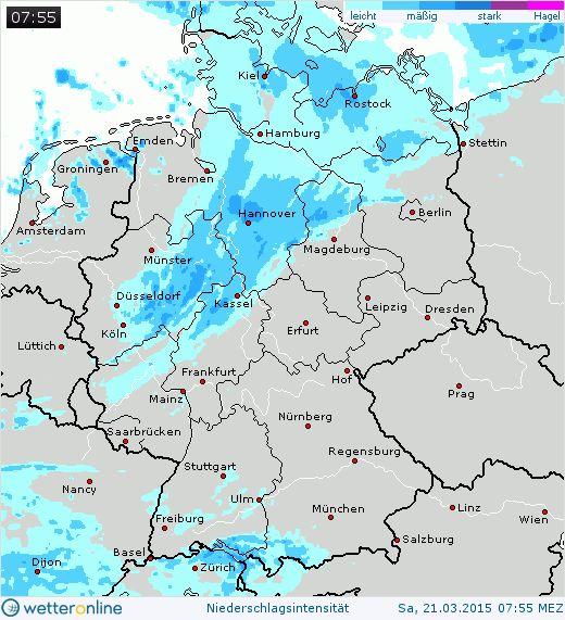Regenradar Deutschland - WetterOnline