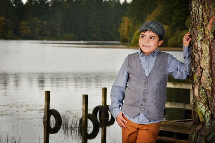child, boy, portrait, environmental, outside country, pose, photography.