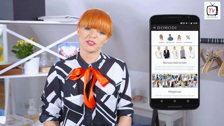Niedawno uruchomiliśmy aplikację mobilną Domodi! Już teraz możecie przeglądać najmodniejsze ubrania i dodatki oraz trendy, inspirować się stylem blogerek i zestawami użytkowników Domodi, porównywać produkty z setek sklepów internetowych oraz robić wygodne zakupy! To wszystko za pomocą swojego telefonu! W tramwaju, w domu, w drodze na uczelnię czy w kawiarni czekając na koleżankę albo podczas przerwy na lunch. Zawsze i wszędzie  :)