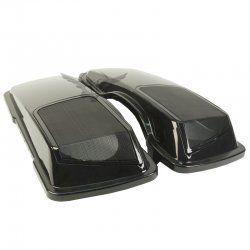 """6x9"""" Speaker Lids for Harley Davidson Saddlebags (1993-2013)"""