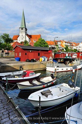 bornholm, denmark.