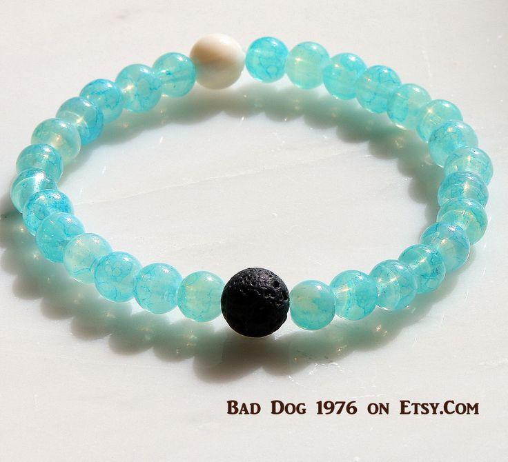 LOKAI,Inspired, Black White Bracelet, Mala Bracelet Guru,Chakra Bracelet,UNISEX Bracelet,Gift Ideas,Girlfriend Boyfriend Gift, CLEANSES  by BadDog1976 on Etsy