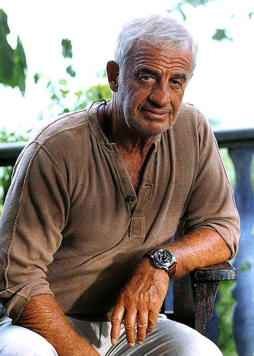 Jean-Paul Belmondo trägt @paneraiofficial. #watchlounge