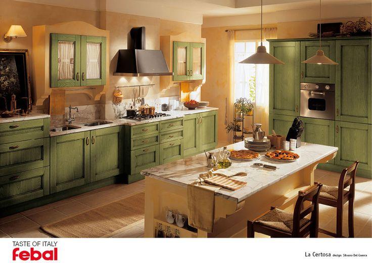 Rustikální kuchyně v toskánském stylu od značky Febal, kompletní nabídku naleznete zde: http://www.saloncardinal.com/galerie-klasicke-kuchyne-ec5