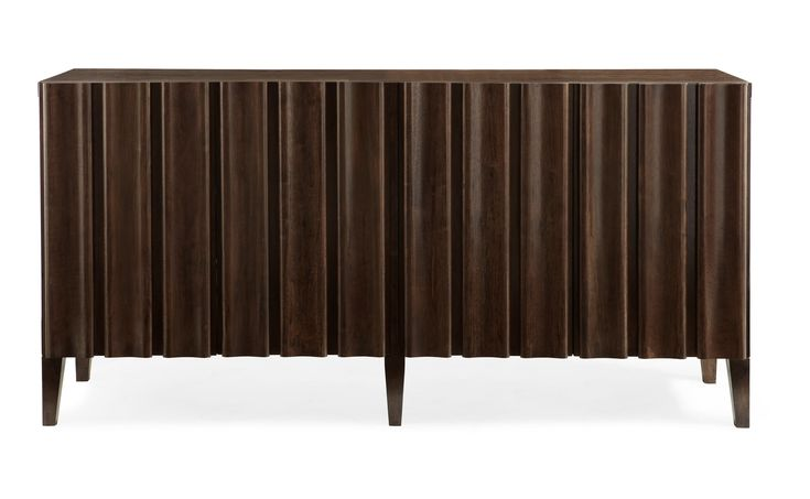346-860 Haven Entertainment Console | Bernhardt W 68 D 19 H 34 $2610 #6Foot #DarkFinish