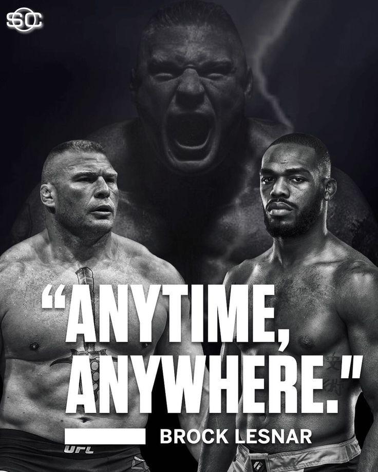 Jon Jones vs. Brock Lesnar?