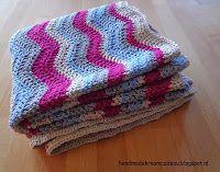 Handmade kraamcadeau: Gehaakt golvend dekentje