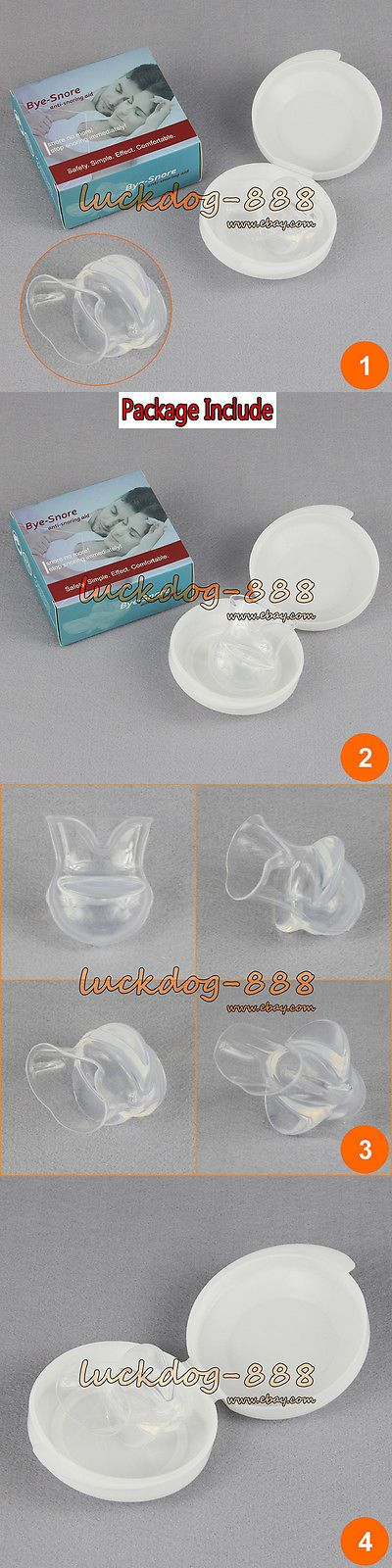 Mouthpieces: Anti Snore Tsd Revolutionary Stop Snoring And Sleep Apnea Mouthpiece Tongue Guard -> BUY IT NOW ONLY: $30.9 on eBay!