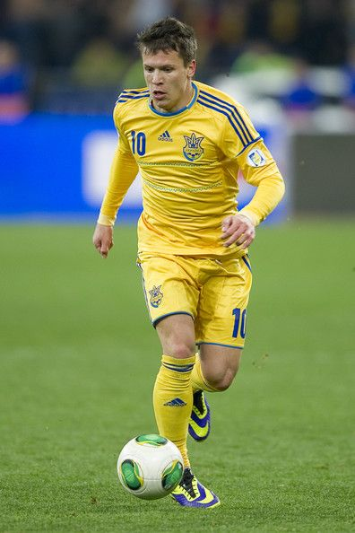 Yevhen Konoplyanka - Ukraine. Plays for Sevilla.