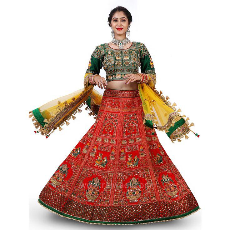 Bridal Heavy Embroidered Choli Suit #rajwadi #cholisuit #readycholi #lehengas #embroidered #FeelRoyal #bridal #colorful