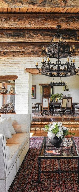Oct 20 Defining Spanish U0026 Mediterranean Style. Interior Decorating ...