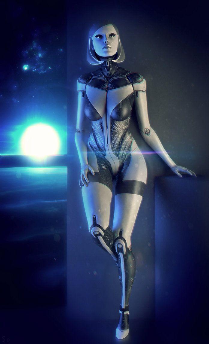 EDI (Mass Effect) by SallibyG-Ray on DeviantArt
