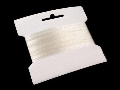 Silikonová pruženka / lastin šíře 4 mm elastická