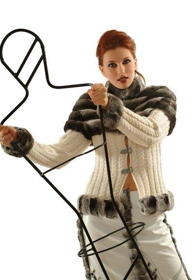 Удивительные сочетания вязания и меха - Ярмарка Мастеров - ручная работа…
