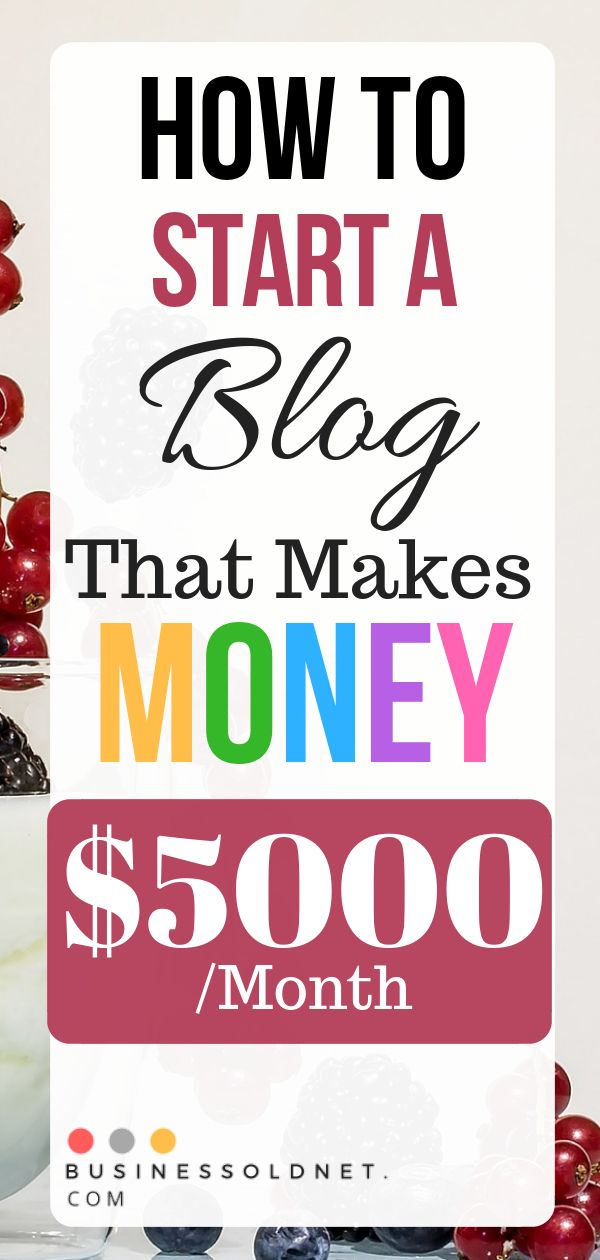 How To Start A Blog That Makes Money $5000 /Month – Blogging For Money