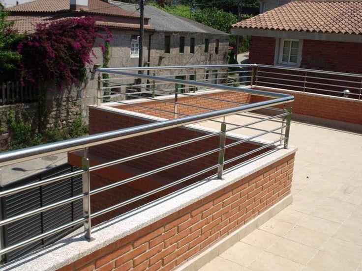 Handrails in 2019 | Balcony railing design, Rooftop design ...