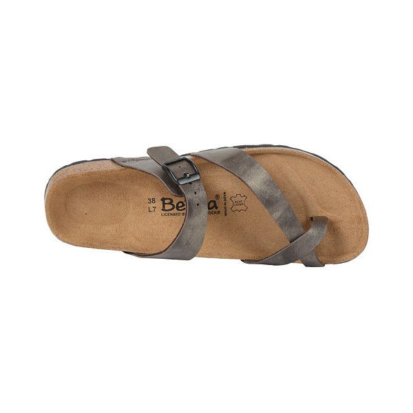 Betula Licensed by Birkenstock Mia (Golden Brown) Women's Sandals (58 CAD) ❤ liked on Polyvore featuring shoes, sandals, summer shoes, brown sandals, evening sandals, ankle strap sandals and faux leather sandals