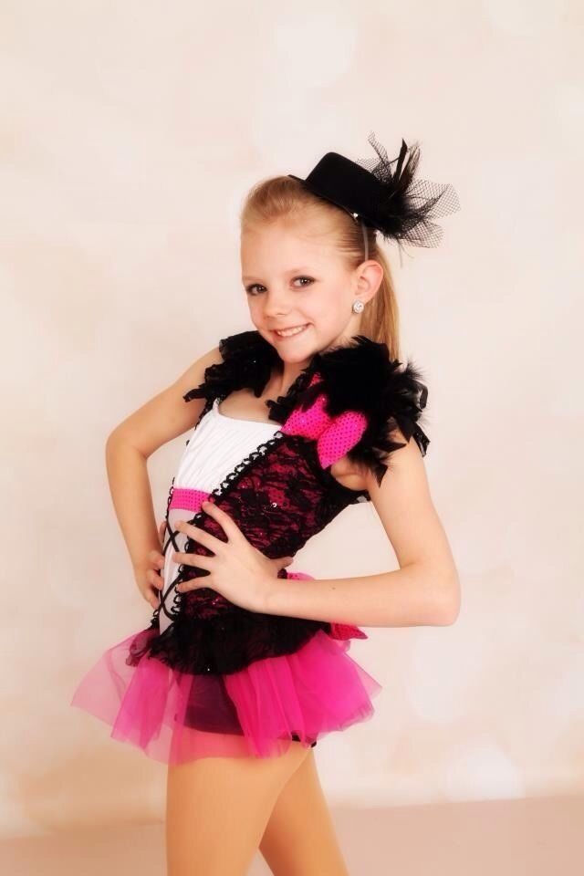Girls Dance Costume Jazz Tap | eBay