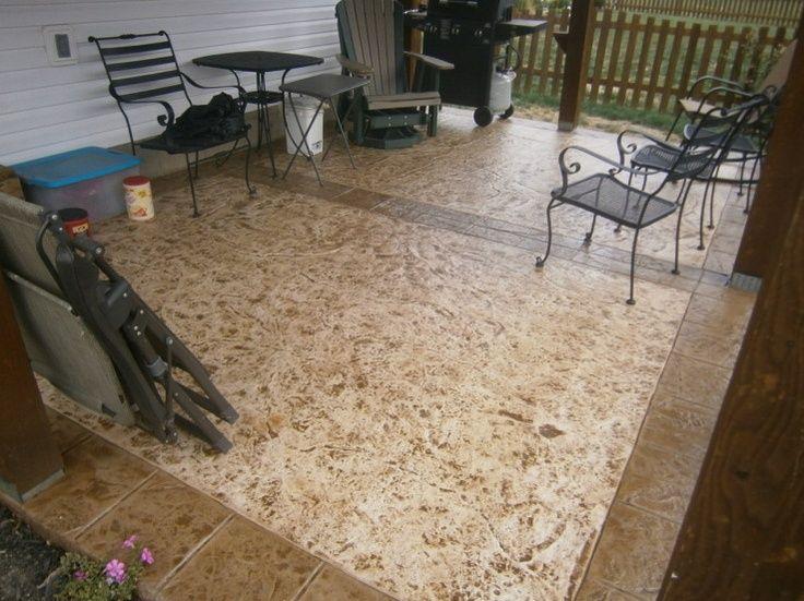 Decorative Concrete Resurfacing   Decorative Concrete Coatings Patio Dubin  Ohio. Repin U0026 Click For More